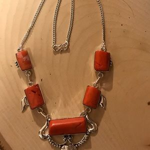 Jewelry - Southwestern looking coral necklace